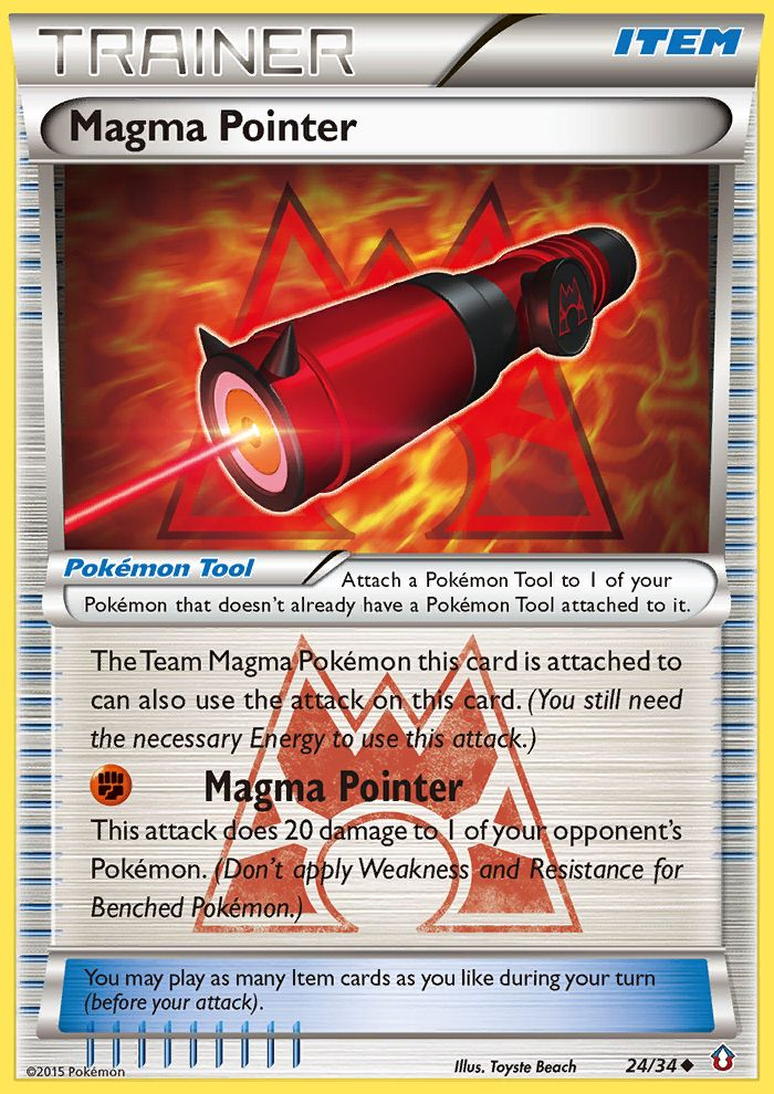 Magma Pointer from Double Crisis