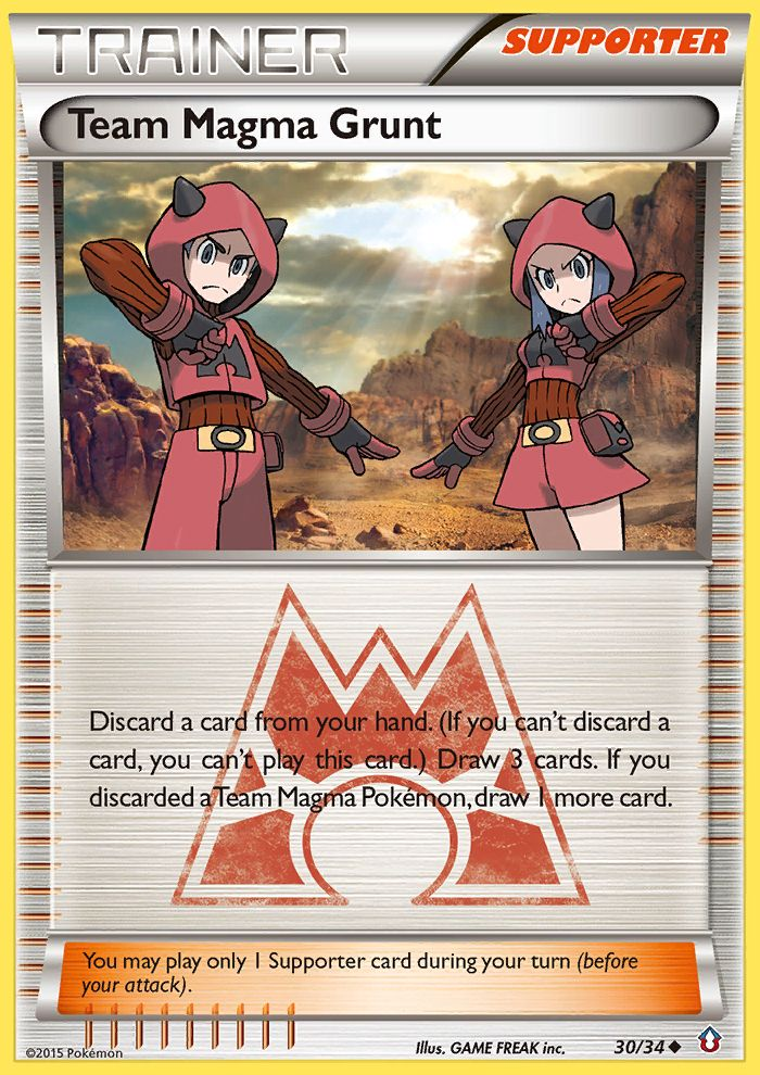 Team Magma Grunt from Double Crisis