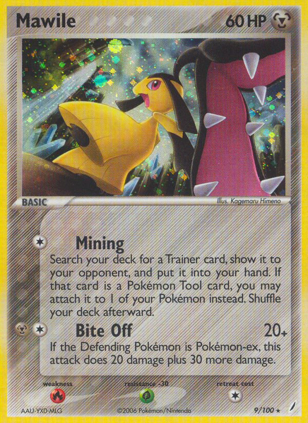 Mawile from ex Crystal Guardians