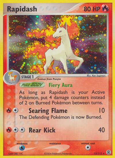 Rapidash from ex Fire Red - Leaf Green