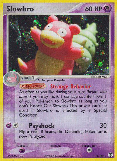 Slowbro from ex Fire Red - Leaf Green