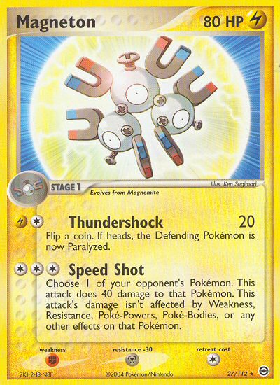 Magneton from ex Fire Red - Leaf Green