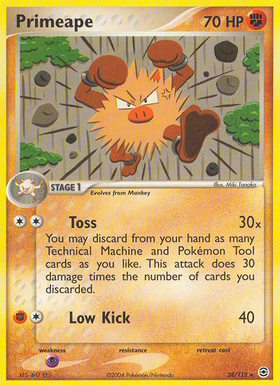 Primeape from ex Fire Red - Leaf Green