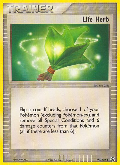 Life Herb from ex Fire Red - Leaf Green