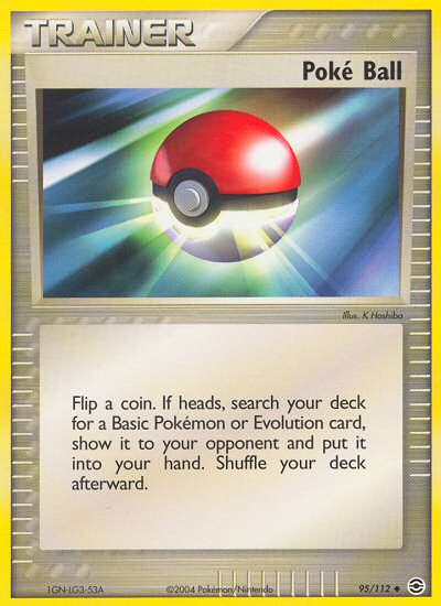 Poké Ball from ex Fire Red - Leaf Green