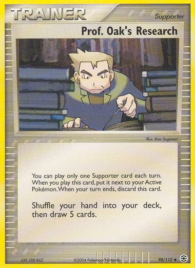 Prof. Oak's Research from ex Fire Red - Leaf Green