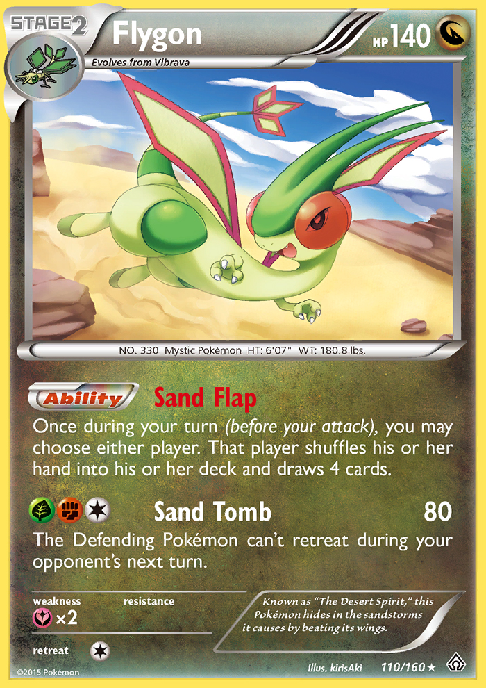 Flygon from Primal Clash