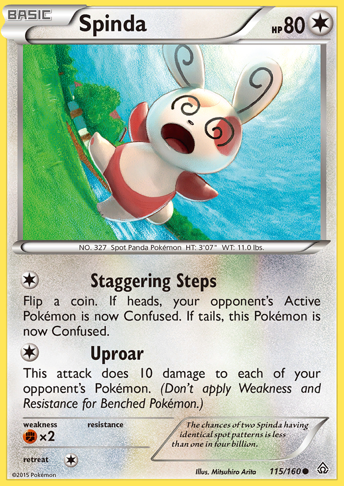 Spinda from Primal Clash