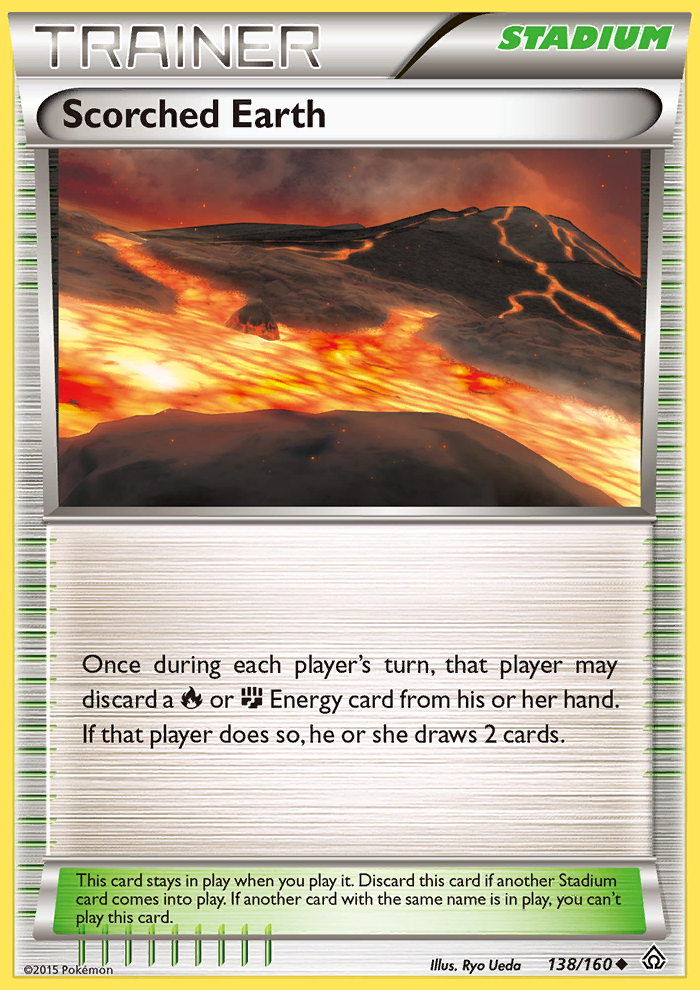 Scorched Earth from Primal Clash
