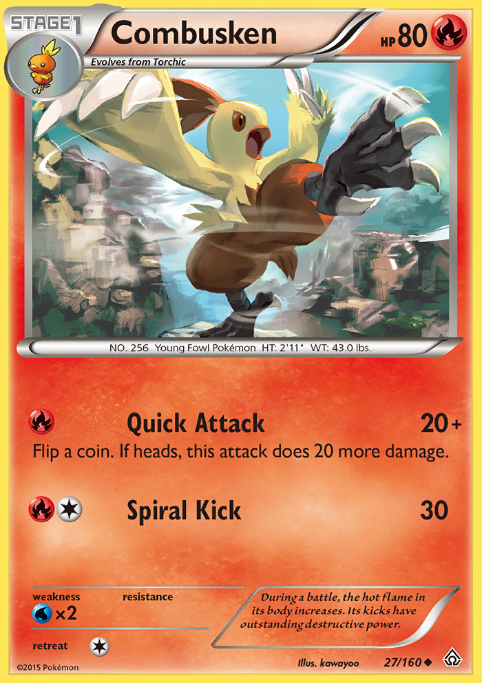 Combusken from Primal Clash