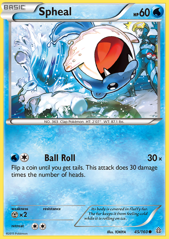 Spheal from Primal Clash