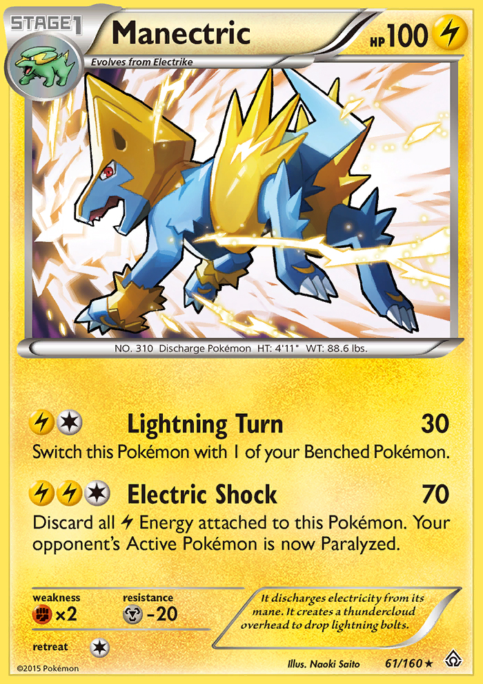 Manectric from Primal Clash