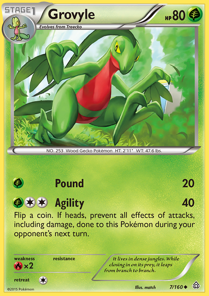 Grovyle from Primal Clash