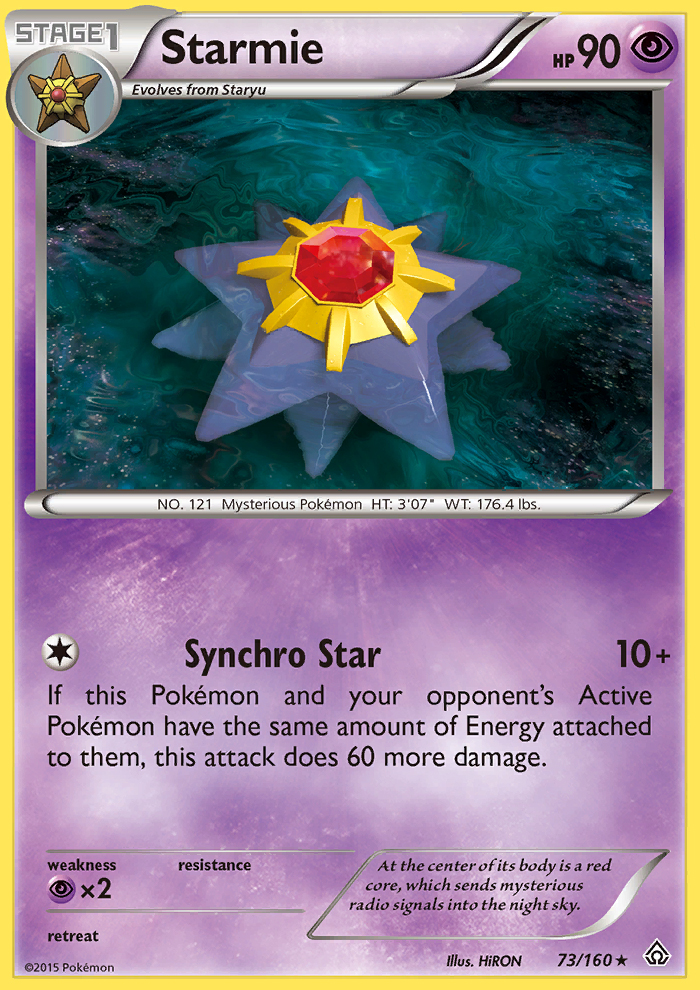 Starmie from Primal Clash