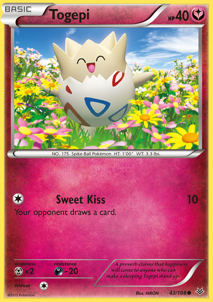 Togepi from Roaring Skies
