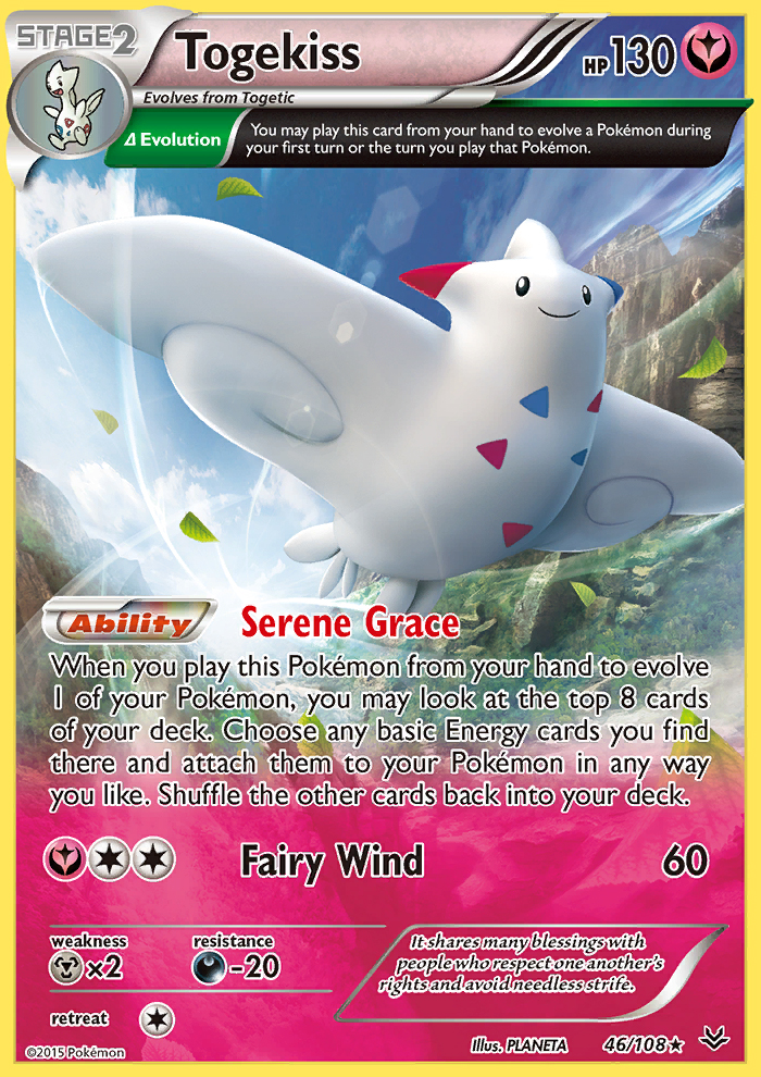 Togekiss from Roaring Skies