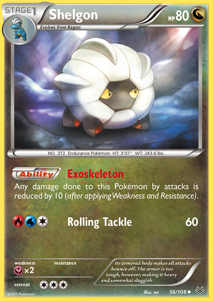 Shelgon from Roaring Skies