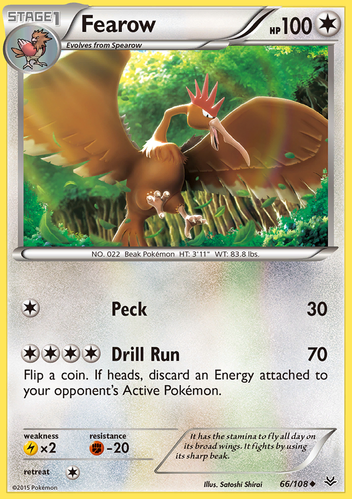 Fearow from Roaring Skies