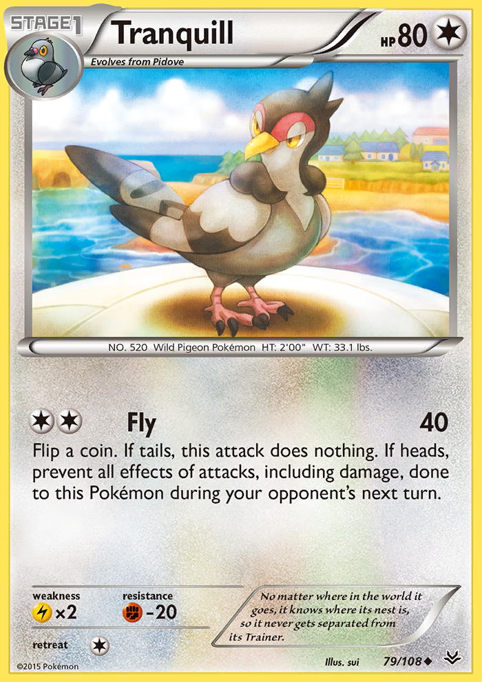 Tranquill from Roaring Skies