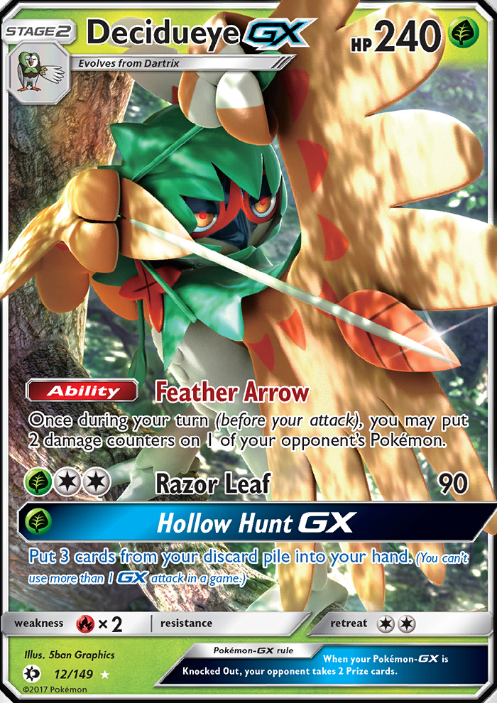 Decidueye-GX from Sun and Moon