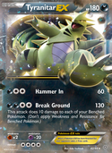 Tyranitar-EX from Ancient Origins