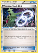 Tyranitar Spirit Link from Ancient Origins