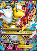 M Ampharos-EX from Ancient Origins
