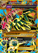 Primal Groudon-EX from Ancient Origins