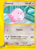 Chansey from Aquapolis