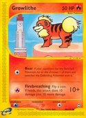 Growlithe from Aquapolis