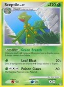 Sceptile from Arceus