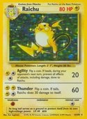Raichu from Base Set
