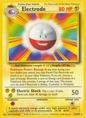 Electrode from Base Set