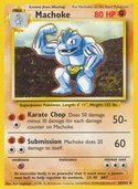 Machoke from Base Set