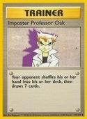 Impostor Professor Oak from Base Set