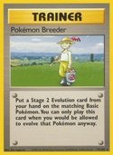 Pokémon Breeder from Base Set