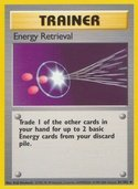 Energy Retrieval from Base Set