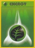 Grass Energy from Base Set