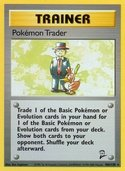 Pokémon Trader from Base Set 2