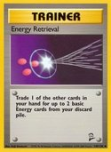 Energy Retrieval from Base Set 2