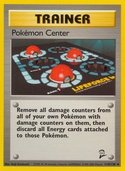 Pokémon Center from Base Set 2