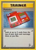 Pokédex from Base Set 2