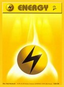 Lightning Energy from Base Set 2