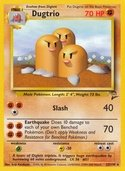 Dugtrio from Base Set 2