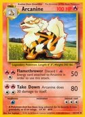 Arcanine from Base Set 2