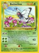 Butterfree from Base Set 2