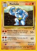 Machoke from Base Set 2