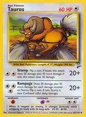 Tauros from Base Set 2