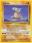 Cubone from Base Set 2