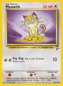 Meowth from Base Set 2
